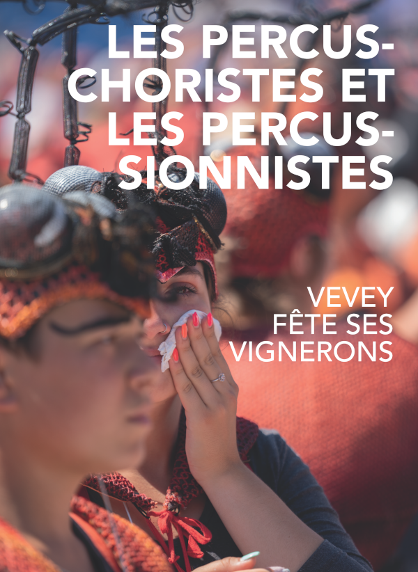 livre fête des vignerons 2019 percuchoristes percusionnistes