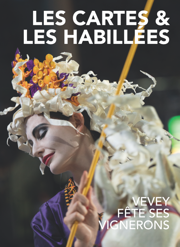 livre fête des vignerons 2019 cartes et habillées