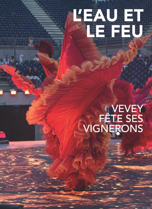 livre fête des vignerons 2019 l'eau et le feu gymnastes marins loyefüller